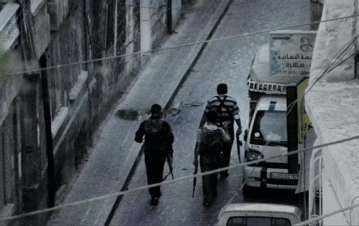 9 Days from My window in Aleppo